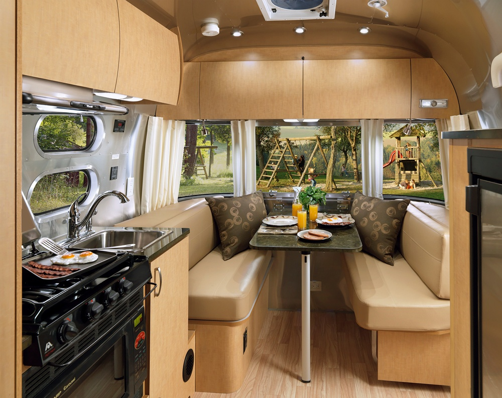Versatile Sleeping Spaces For Miles Of Comfort Airstream