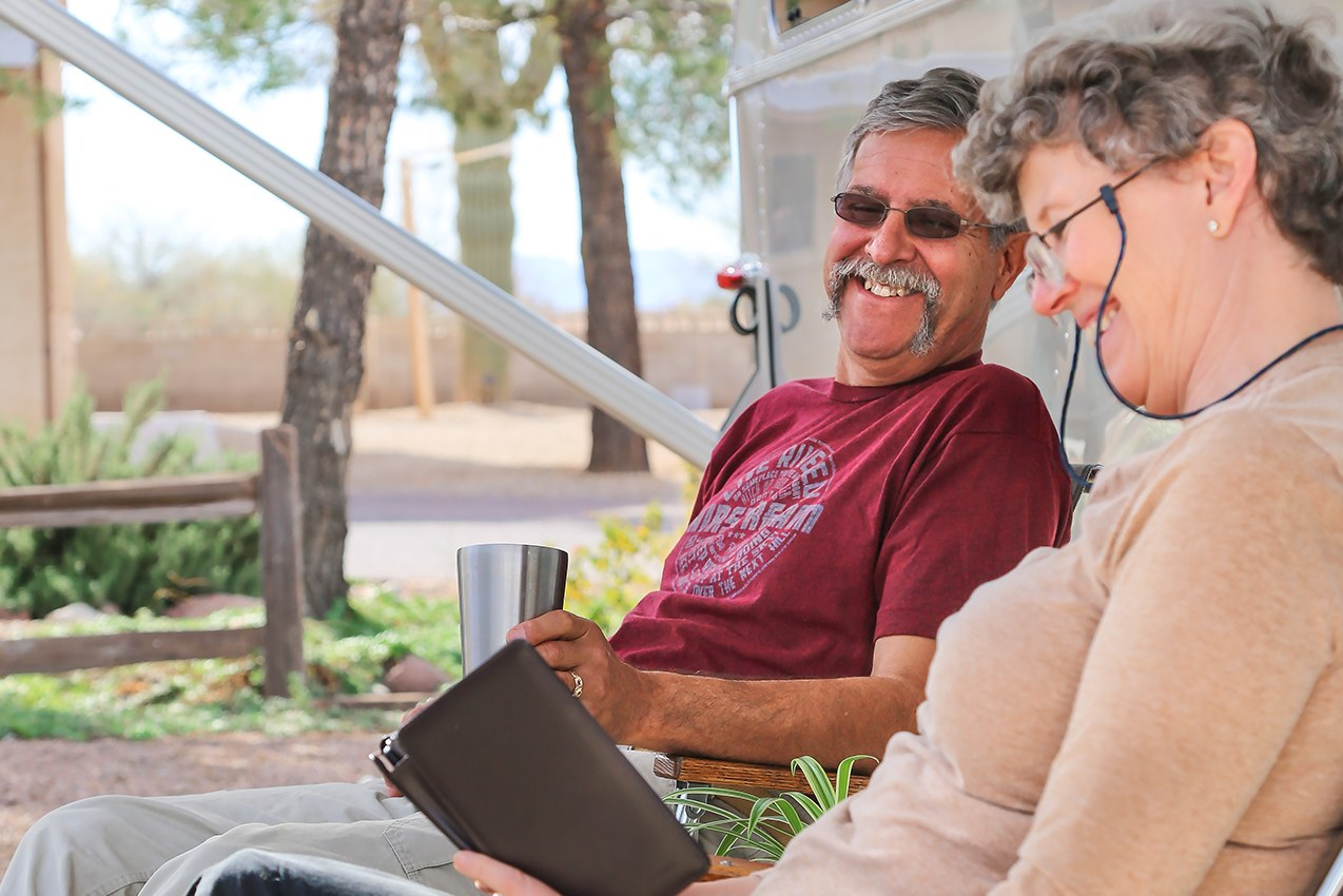 Retirement Airstream Home with Bob and Page
