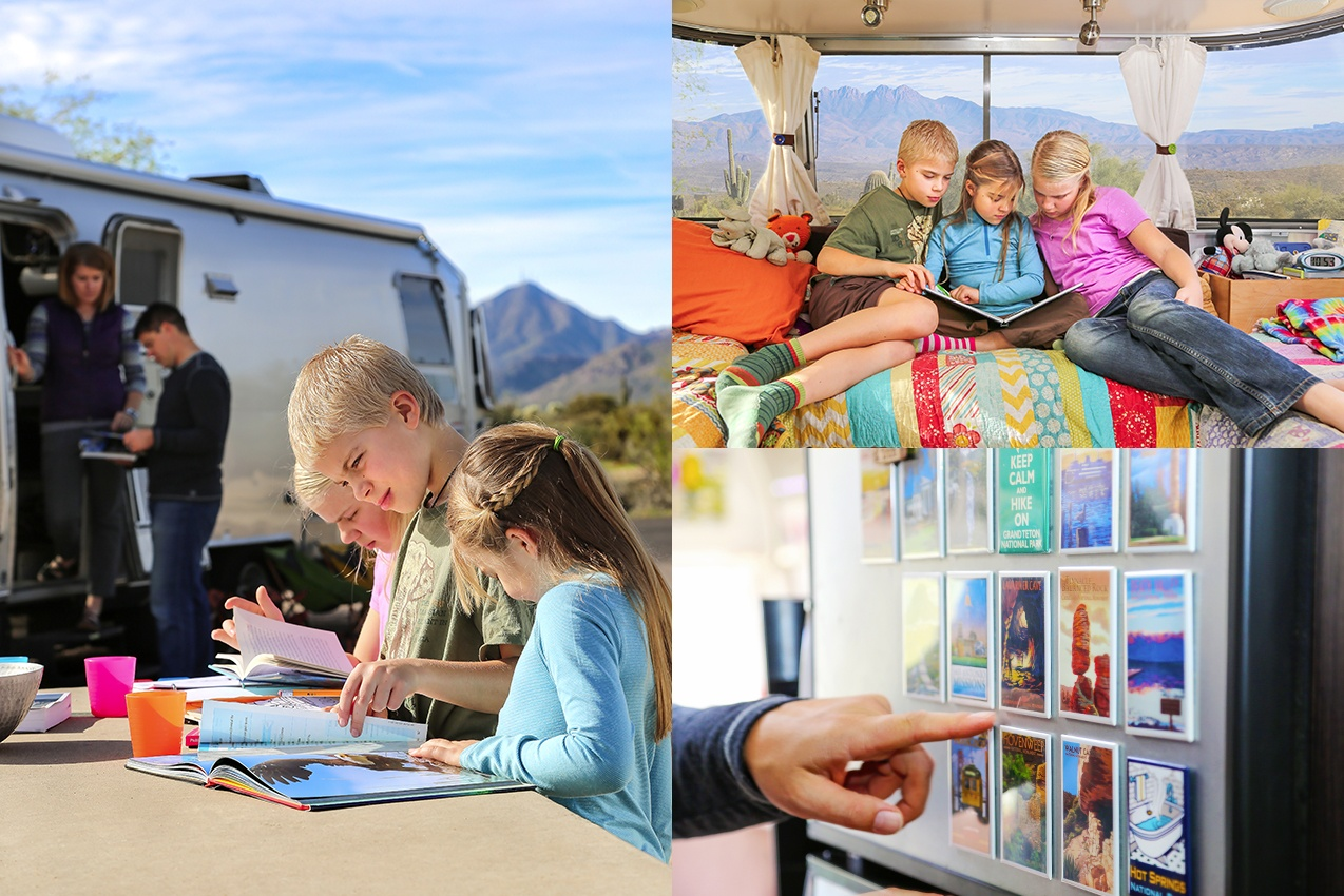 My Airstream, My Story: Home School