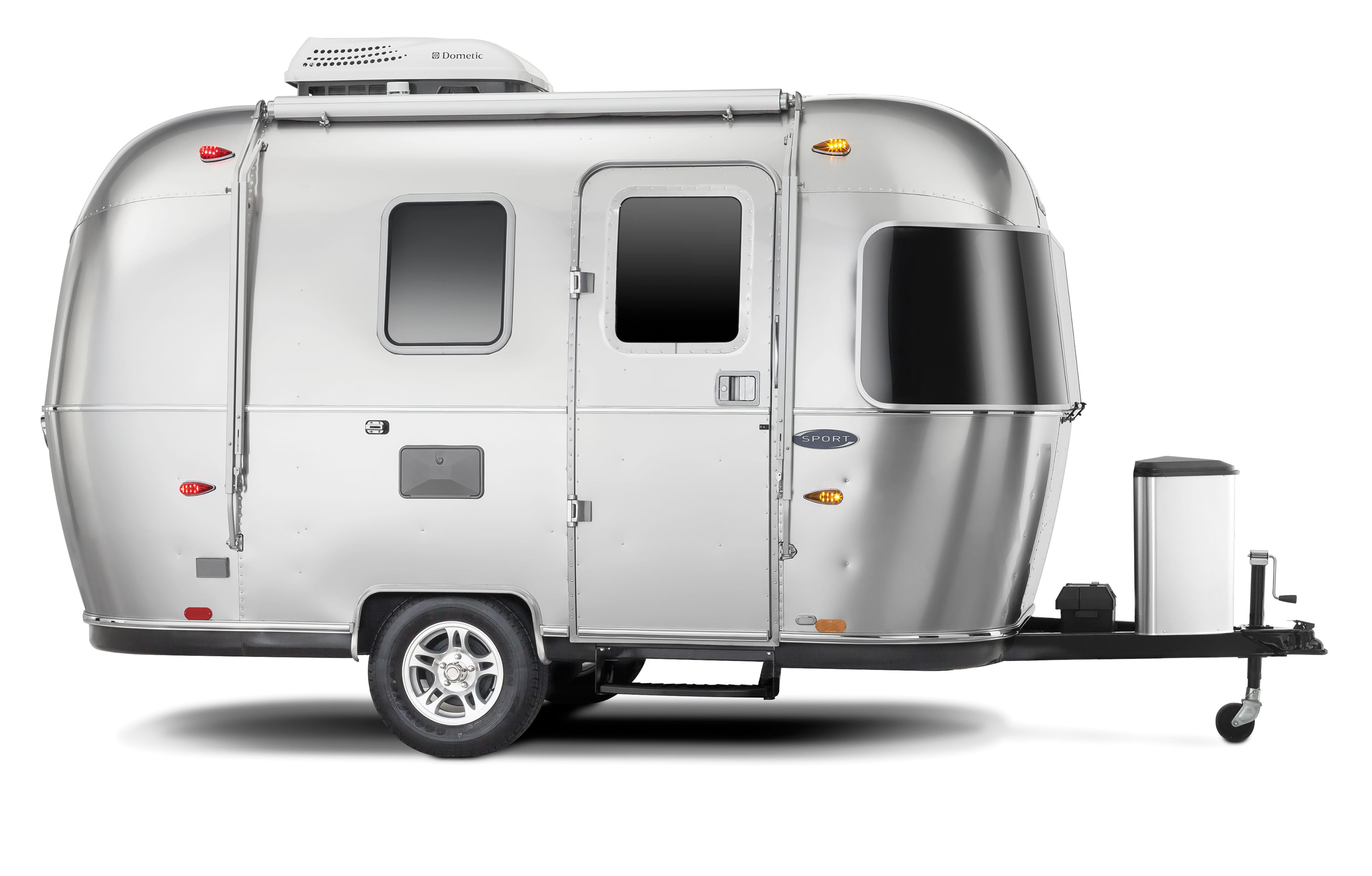 what 39 s new with the 2018 sport airstream. Black Bedroom Furniture Sets. Home Design Ideas