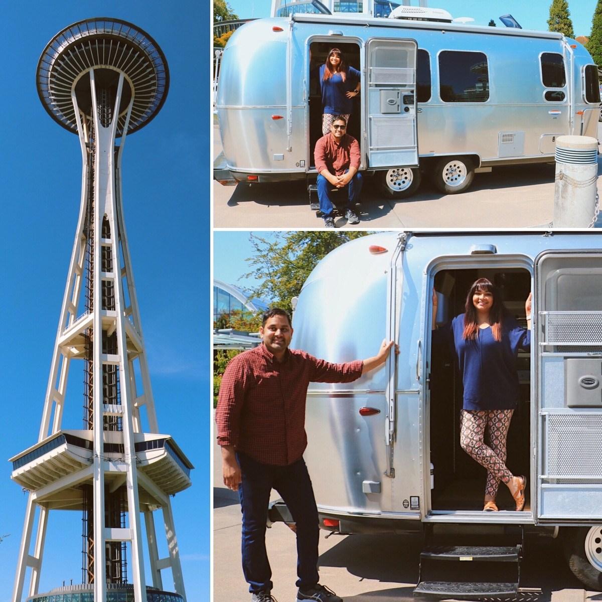 Endless Caravan: Brown People Camping Collage