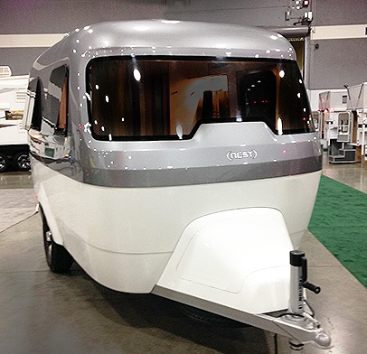 The Timing Couldnt Have Been Better Airstream Had Discussing Expansion Of Its Product Line To Include A Molded Fiberglass Trailer