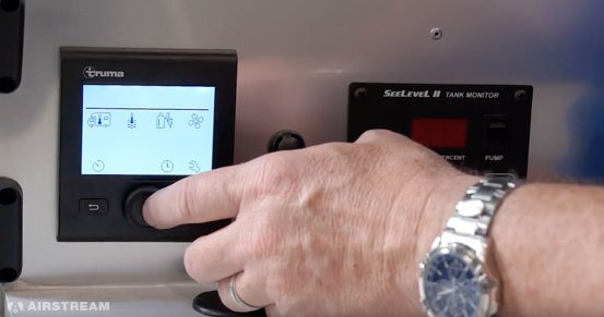 Airstream Basecamp Truma Display