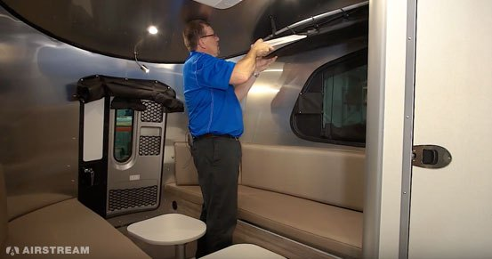 Airstream Basecamp Bed Supports