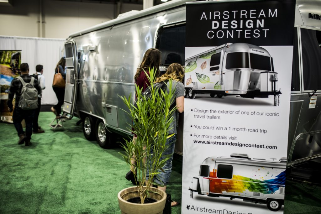 Airstream Design Contest Sign
