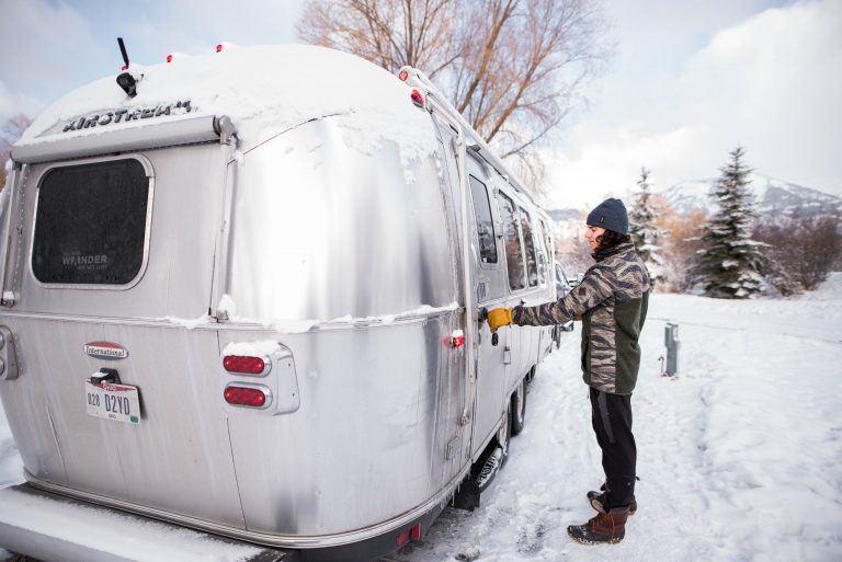 Endless Caravan Winter Wandering In Jackson Hole Airstream