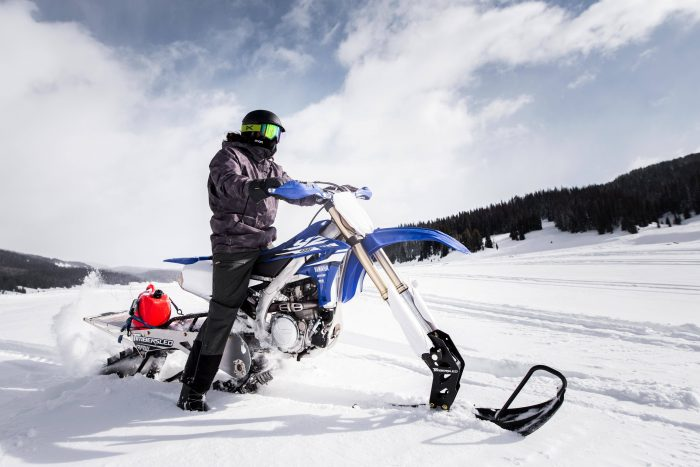 Ryan Snowmobiling on Endless Caravan