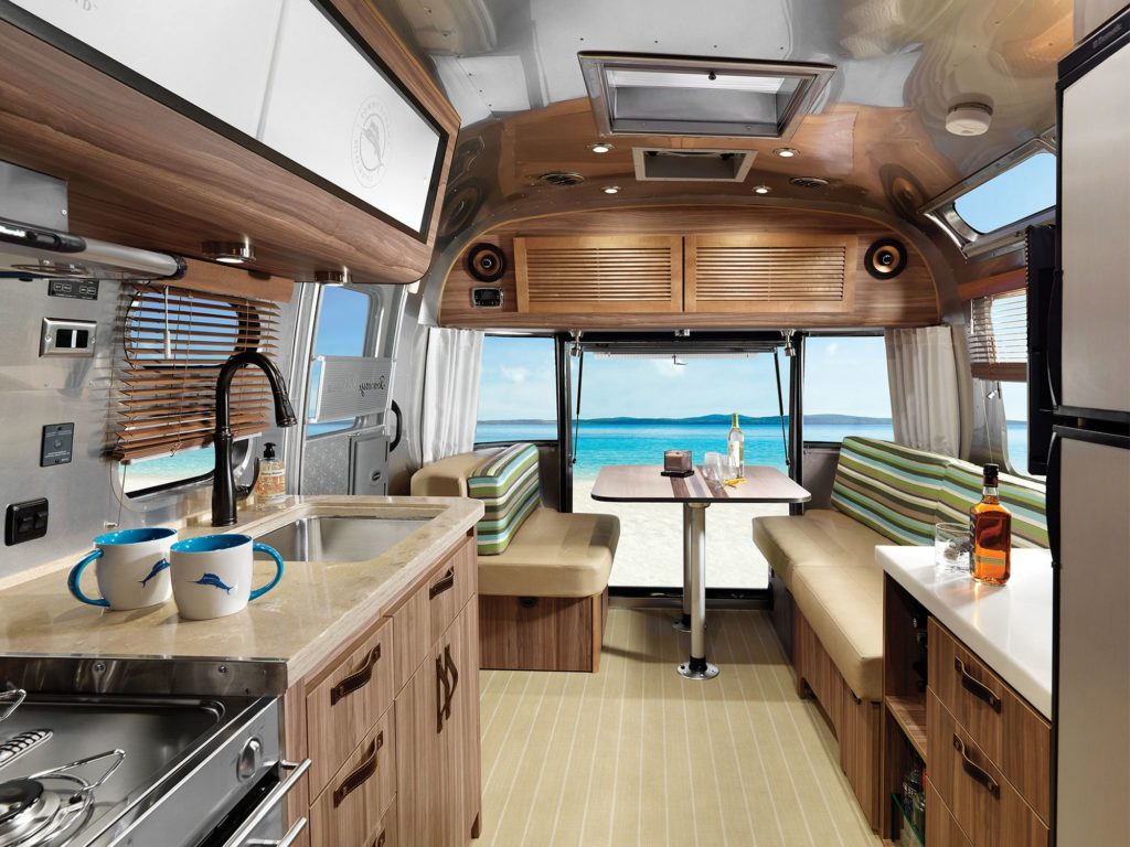 Airstream Tommy Bahama Travel Trailer Interior