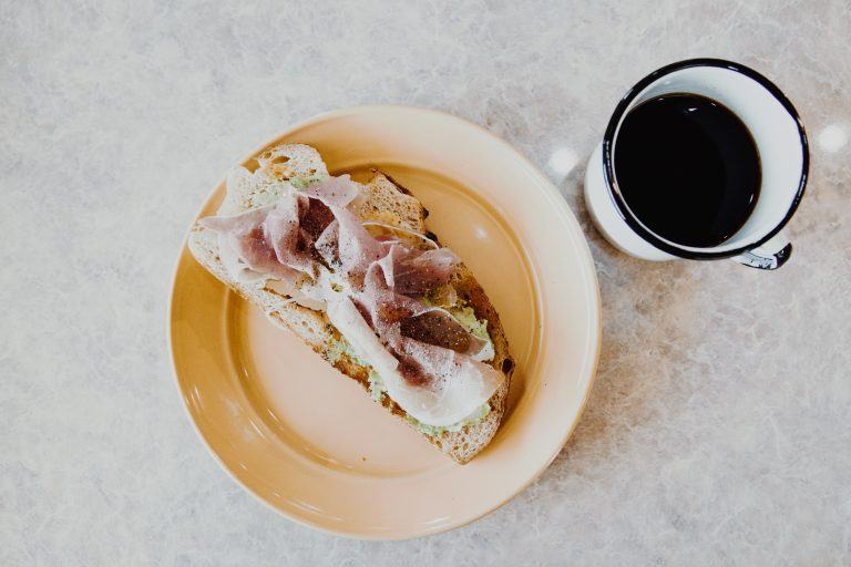 Prosciutto + Avocado Sourdough Toast