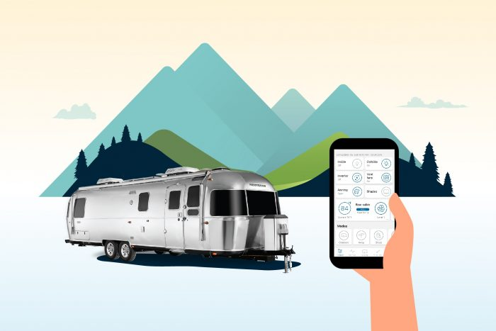 Airstream + TH2 Smart RV Launch