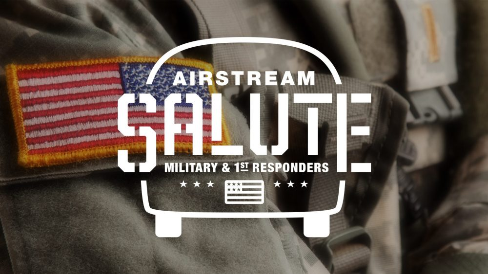 Airstream Salute Military and First Responder Program