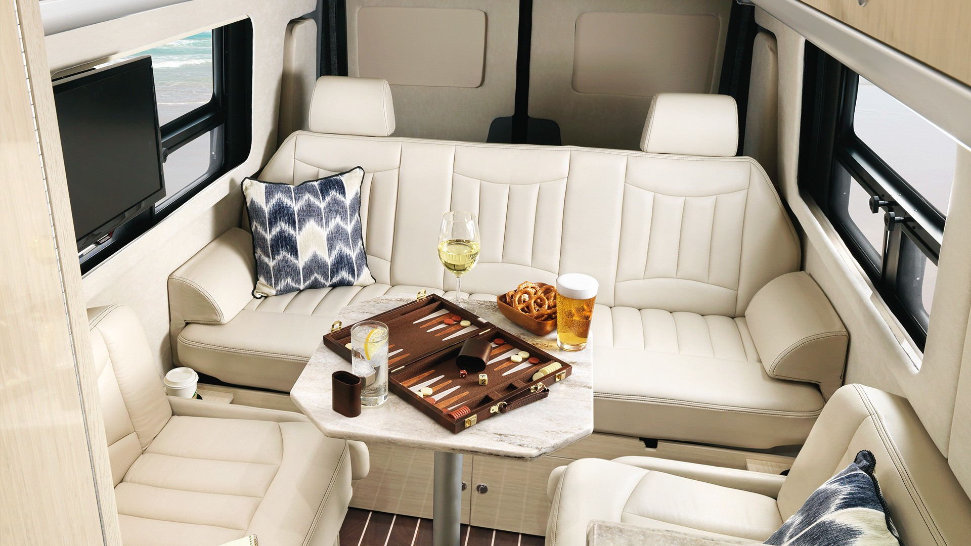 Interstate Lounge Ext Touring Coaches Airstream