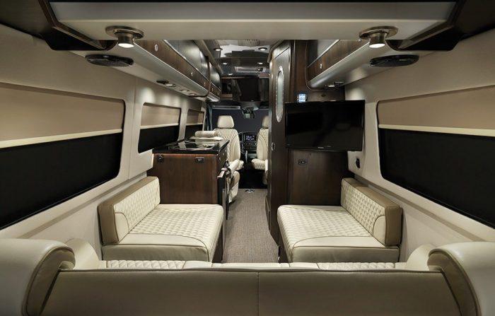 Airstream Interstate Slate Interior