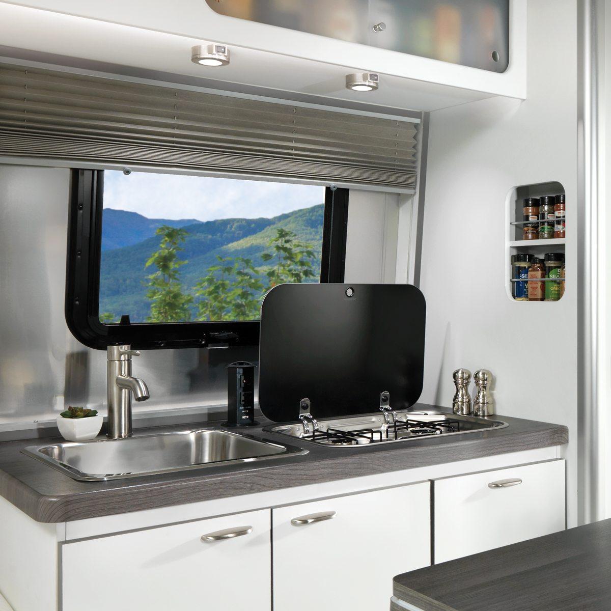 Nest 16fb Floor Plan Travel Trailers Airstream