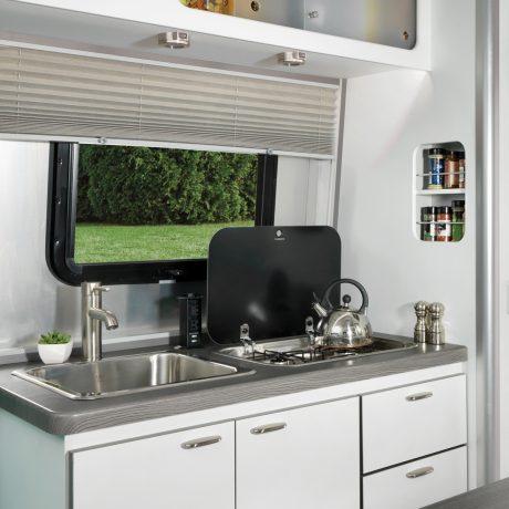 Nest by Airstream kitchen