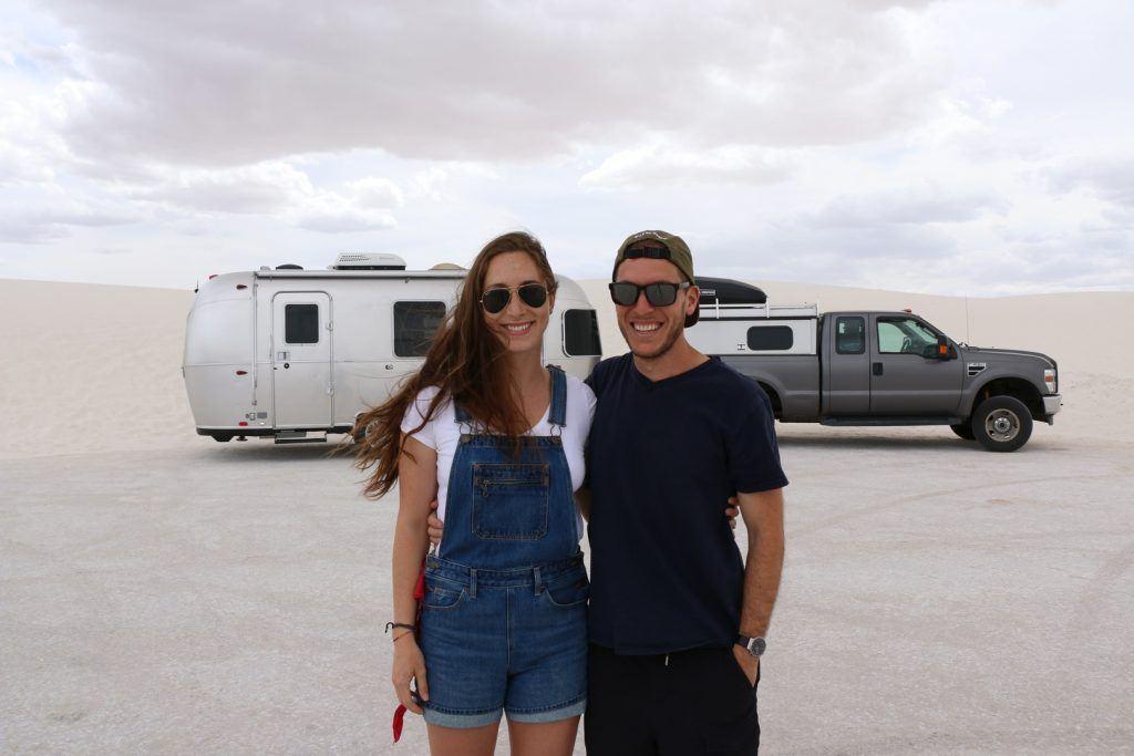 Justin and Ariele Champion Airstream