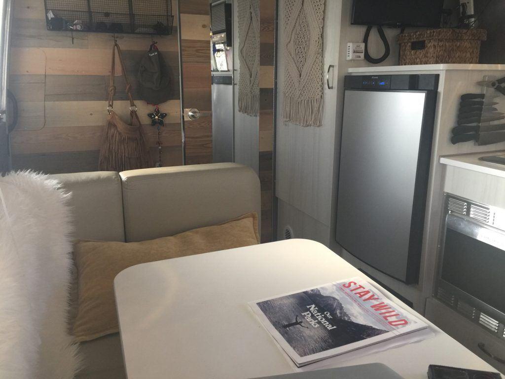 Airstream Sport Interior Kitchen Table