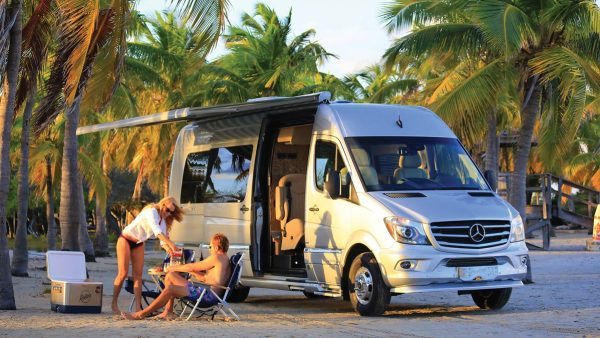 Features Tommy Bahama Interstate Touring Coaches