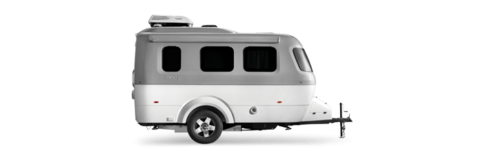 Nest by Airstream exterior curb side tire awning windows