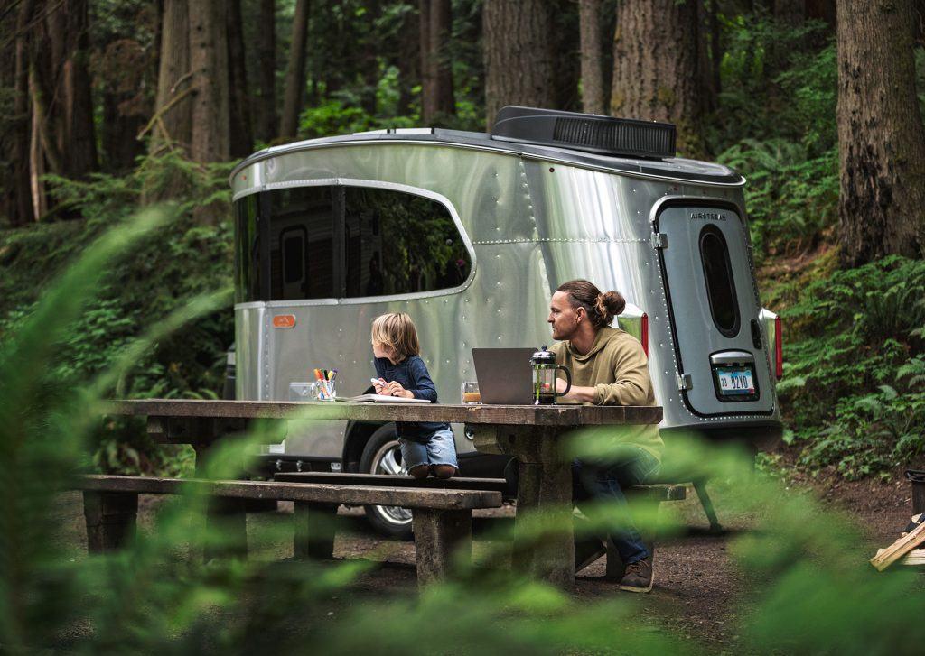 Airstream Basecamp Campsite Cleanup Campaign