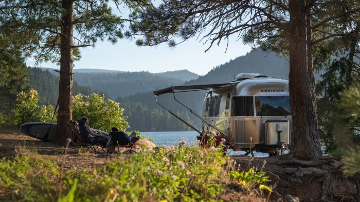Airstream National Forest Foundation Campsite Cleanup Campaign