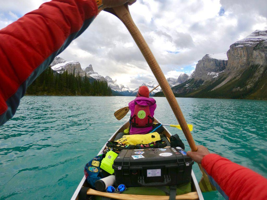 Airstream Adventure Kayaking Roberto and Bella Gibbons