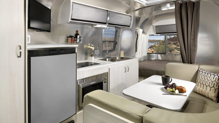 Airstream Sport 22 Interior Kitchen