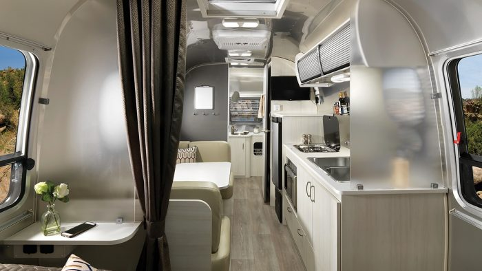 Airstream Sport Interior Front to Back Galley