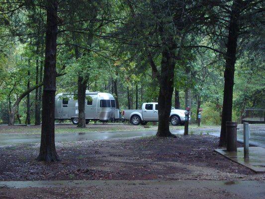 Devil's Den Airstream Camping