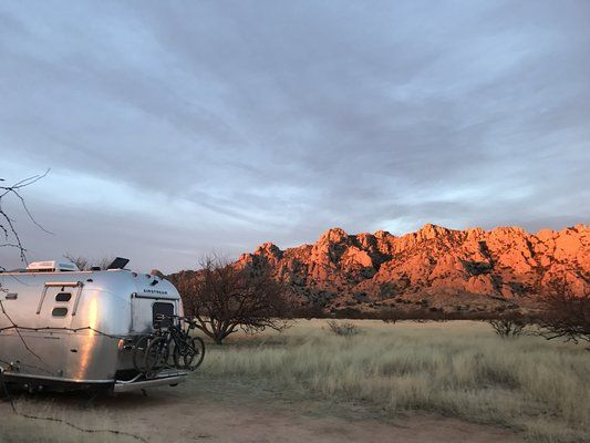 Airstream Forest Road Camping