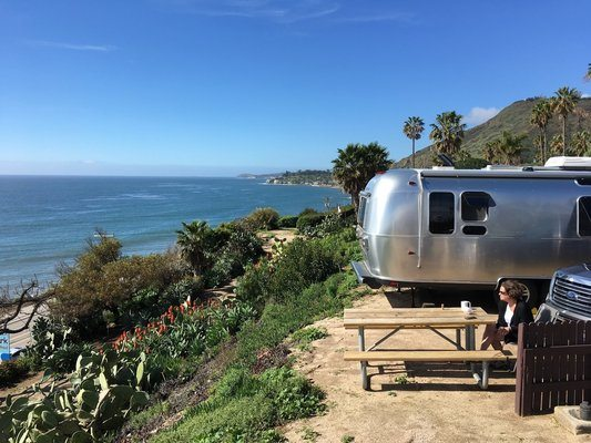 The Best Airstream Camping in January   Airstream